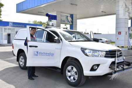 Авто для поиска утечек метана