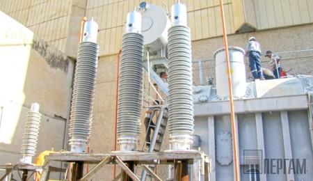 Силовой трансформатор на Токтогульской ГЭС