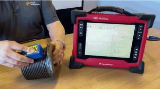 Электромагнитный метод ACFM для контроля наружных дефектов металла в сварных соединениях