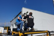 Установка детектора метана на ГРС