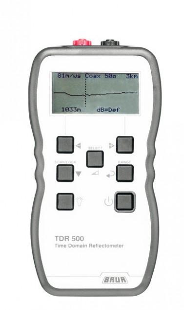 Портативный импульсный рефлектометр BAUR TDR 510