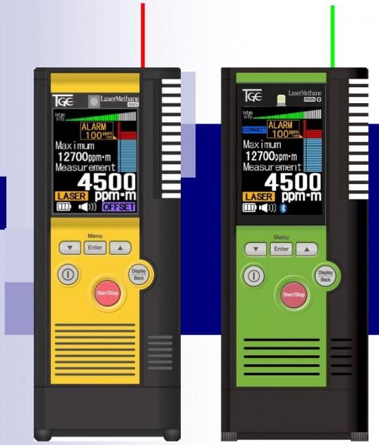 Портативный детектор утечек метана Laser Methane mini-G