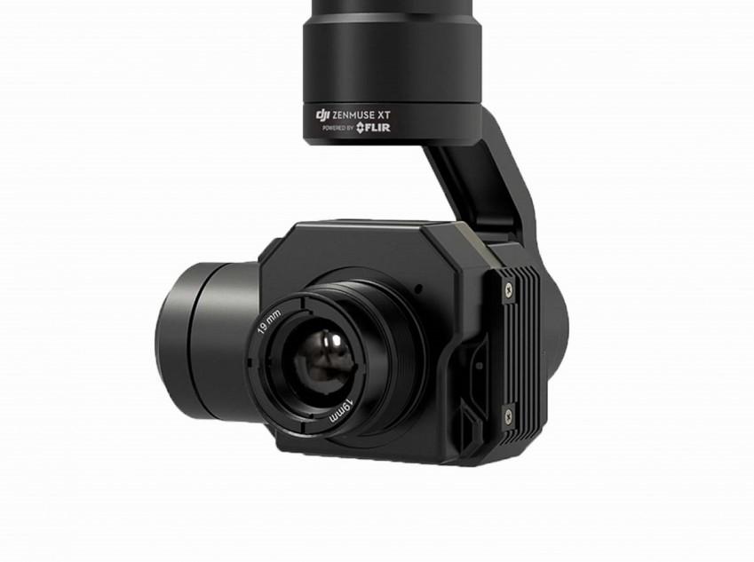 Zenmuse XT с объективом 19 мм