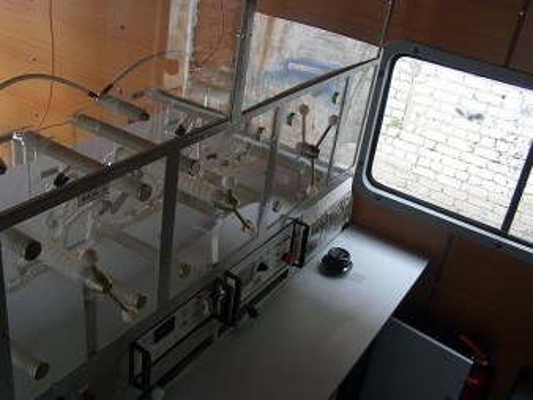 Интерьер электротехнической лаборатории ПЕРГАМ ЭТЛ-35