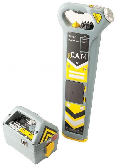 Кабелеискатель gCAT4 с генератором Genny4