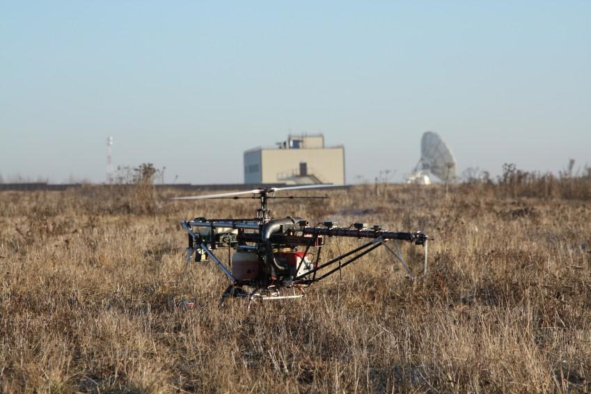 БПЛА Ворон с детектором метана ALMA G4 UAV