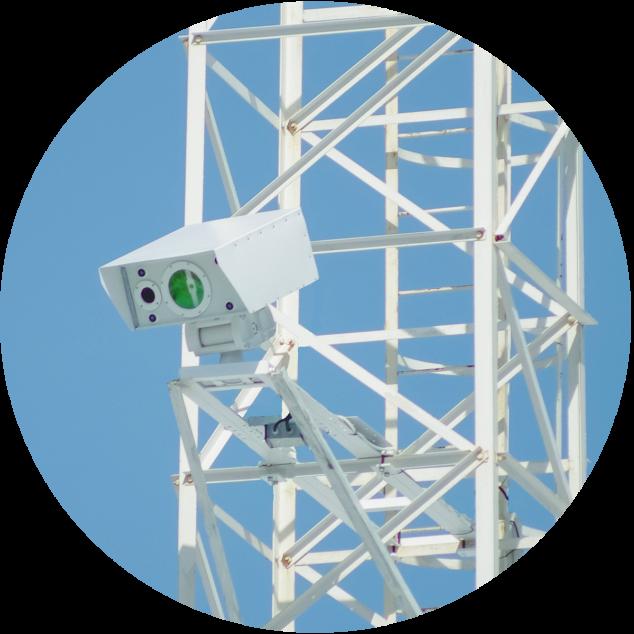 Стационарный детектор метана для КС