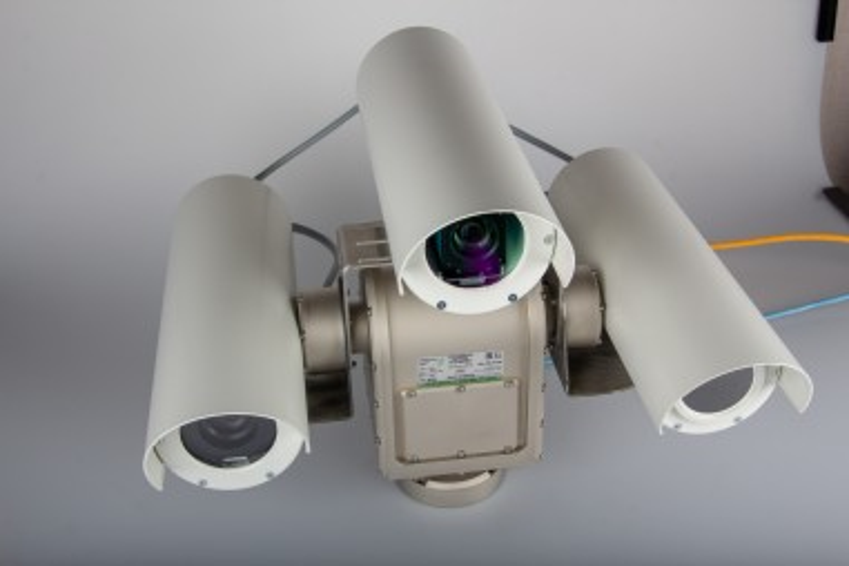 Детектор метана с тепловизором и камерой