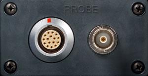 Два разъема NORTEC 600 для подключения преобразователей