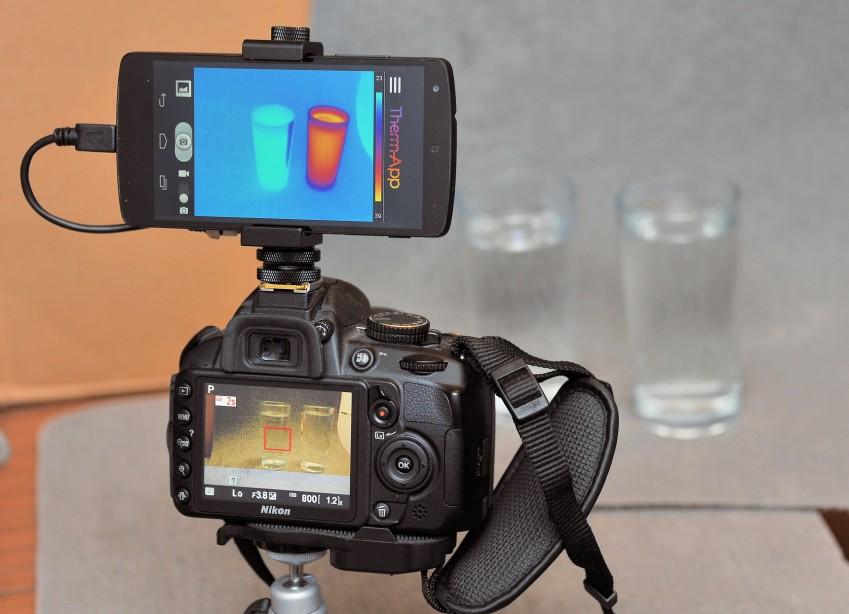 Therm-App и фотоаппарат