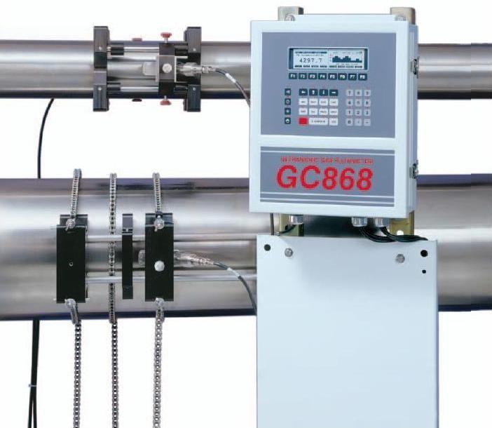 GE Sensing DigitalFlow GC868