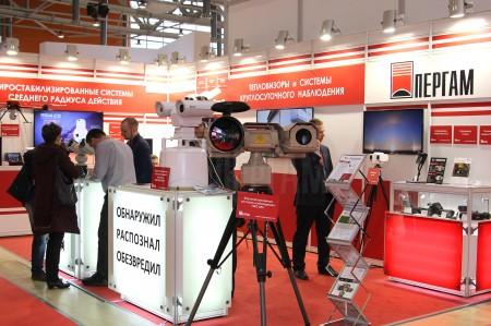 Тепловизоры ПЕРГАМ на выставке MIPS