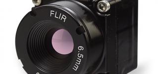 Компания FLIR выпустила новый миниатюрный тепловизор
