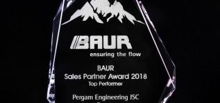 Компания ПЕРГАМ признана самым эффективным партнёром на BAUR Global Sales Conference