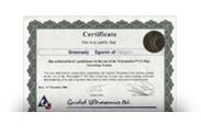 Сертификат Wavemaker