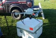 Квадрокоптер с портативным детектором метана
