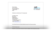 Сертификат UE Systems