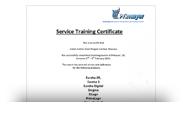 Сертификат Primayer