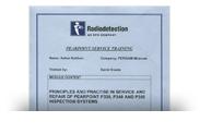 Сертификат Radiodetection