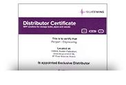 Сертификат дилера SILVERWING