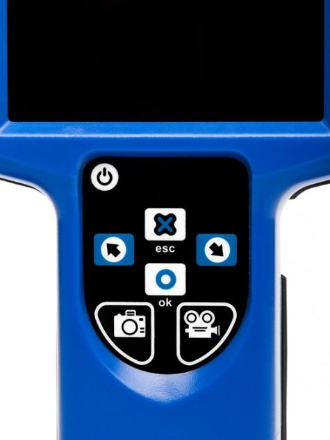 Запись фото и видео одной кнопкой на мониторе ADRONIC V55n