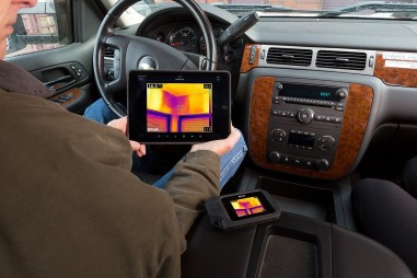 Передача фото и видео с тепловизора на планшет