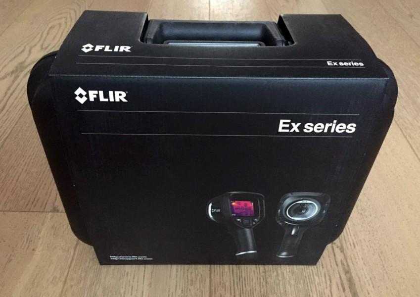 Комплектация FLIR E8