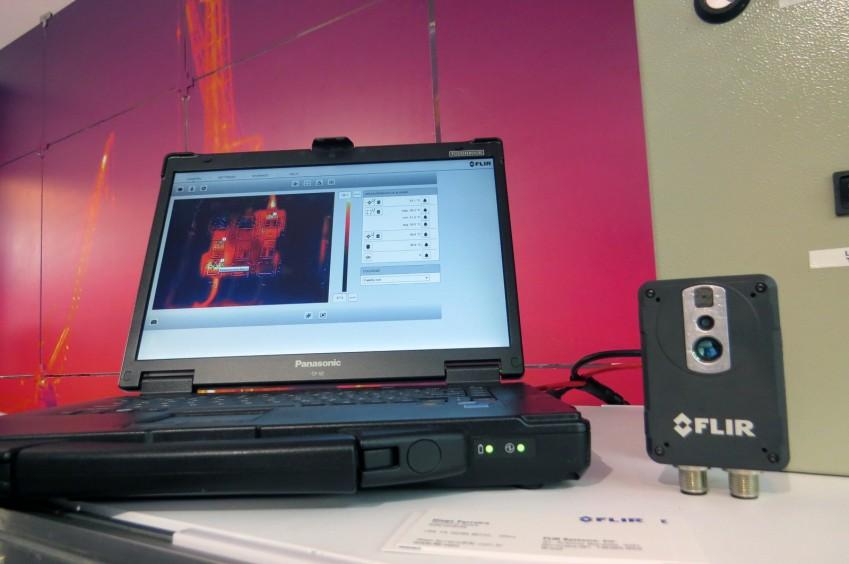 Обработка ик-изображений с FLIR AX8